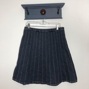 Talbots denim skirt 12